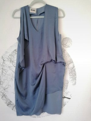 Acne Sukienka z krótkim rękawem błękitny