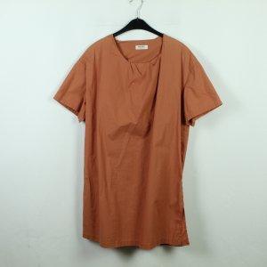 Acne Jeans Sukienka mini ciemny pomarańcz Bawełna
