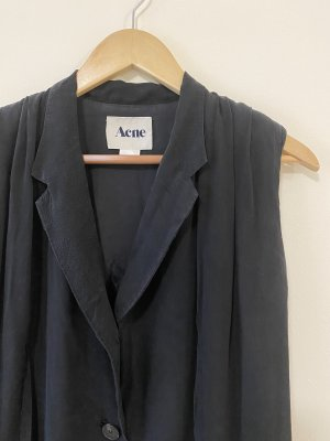 Acne Studios Sukienka o kroju koszulki czarny