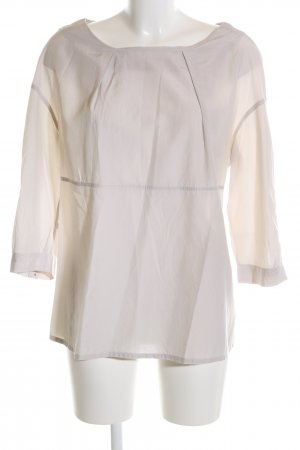 Acne Blusa de manga larga blanco puro estilo «business»