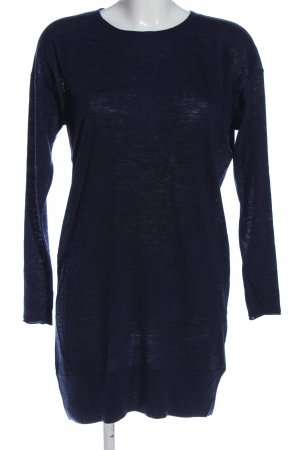 Acne Langarmkleid blau Casual-Look