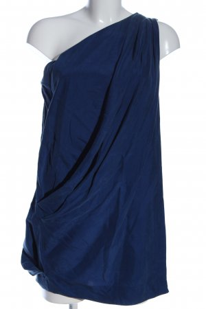 Acne One-Shoulder-Kleid blau Elegant