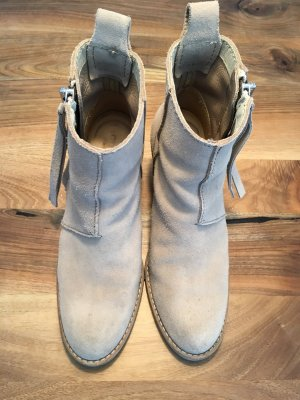Acne Botas de tobillo multicolor Gamuza