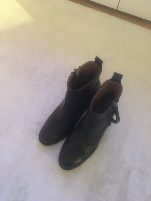 Acne Studios Ankle Boots black leather