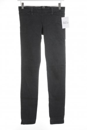 Acne Jeans cigarette gris foncé style simple