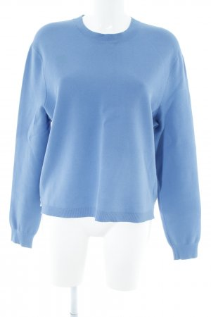Acne Crewneck Sweater cornflower blue casual look