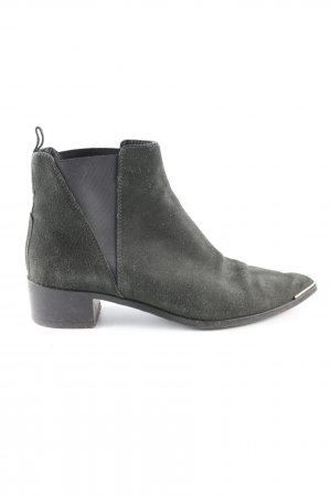 Acne Slip-on Booties khaki casual look