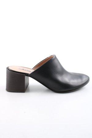 Acne Zapatos sin cordones negro estilo «business»