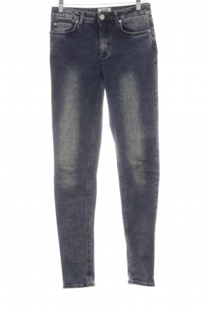 Acne Skinny jeans donkerblauw casual uitstraling