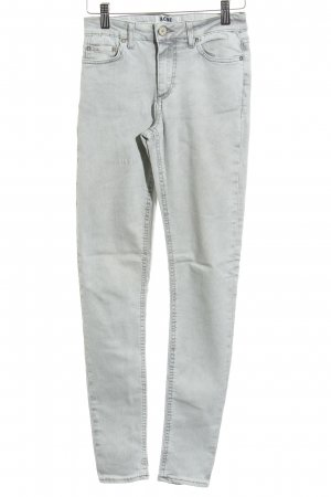 Acne Skinny jeans lichtgrijs casual uitstraling