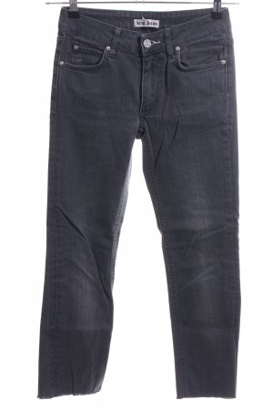 Acne Slim Jeans blue casual look