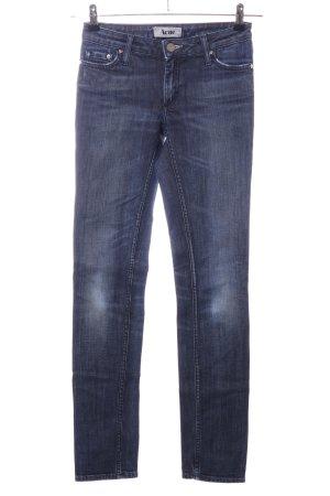 Acne Jeans slim fit blu stile casual