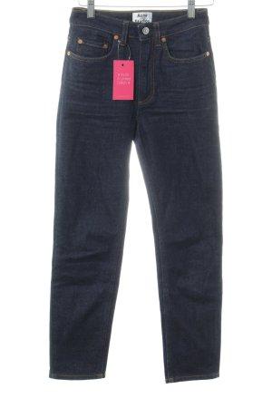Acne Jeans slim bleu foncé style décontracté