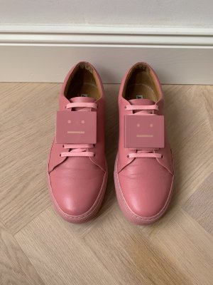 Acne Sneaker stringata rosa