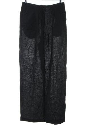 Acne Stoffen broek zwart casual uitstraling