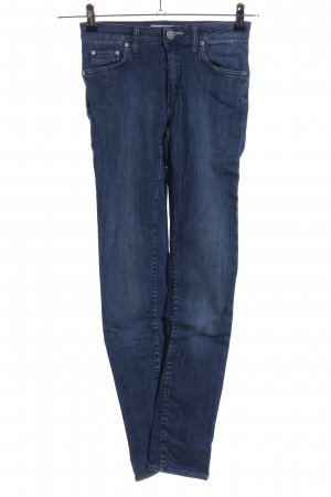 Acne Stretch Jeans blau Casual-Look