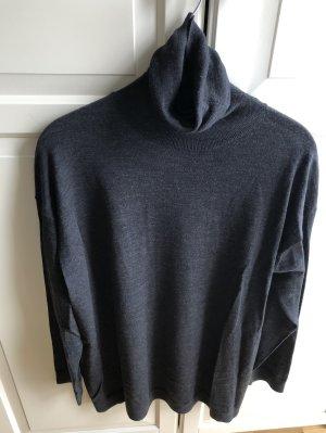 Acne Studios Sweter z golfem szary-ciemnoszary Angora