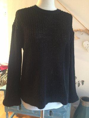 Acne Gebreide trui zwart