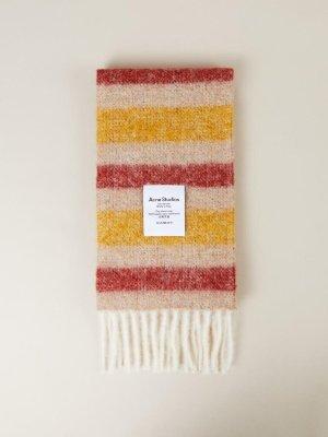 Acne Studios Bufanda de lana multicolor lana de alpaca