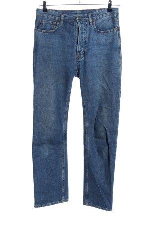 Acne Studios Workowate jeansy niebieski W stylu casual