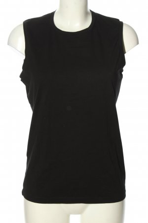 Acne Studios Basic topje zwart casual uitstraling