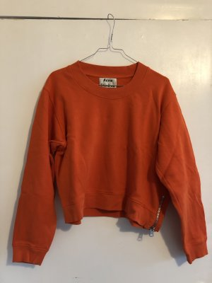 Acne Sweat Shirt orange