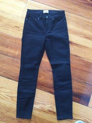 Acne Studios Jeansy o obcisłym kroju czarny