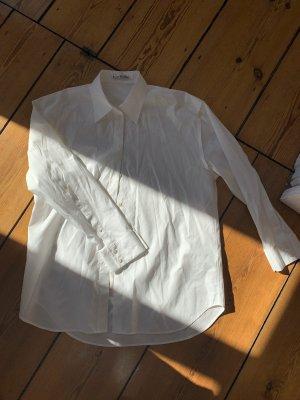 Acne Studios Hemd aus Baumwolle Weiß Bluse Neu 36
