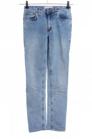 Acne Studios High Waist Jeans blau Casual-Look