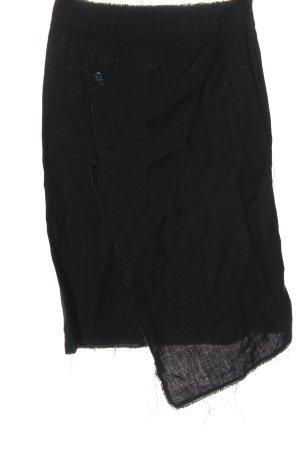 Acne Studios Spódnica z wysokim stanem czarny W stylu casual