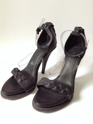 Acne Sandals black leather