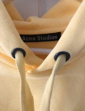 Acne Jersey con capucha amarillo pálido
