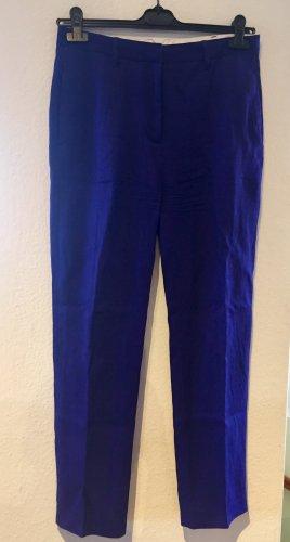 Acne Studios Pantalon en lin violet-violet foncé