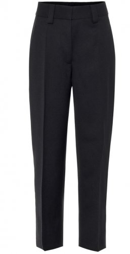 Acne Drainpipe Trousers black