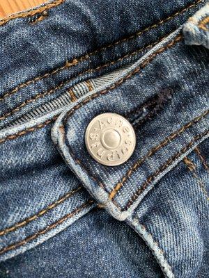 Acne Pantalon cinq poches bleu