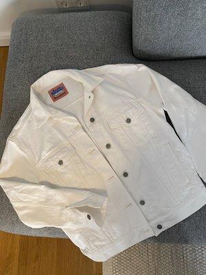 Acne Studios Jeansowa kurtka biały