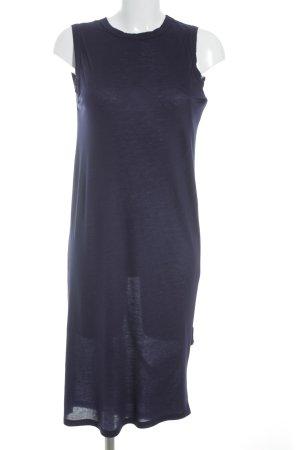 Acne Jerseykleid dunkelviolett schlichter Stil