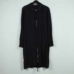 Acne Vestido de manga larga negro lyocell
