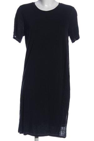 Acne Studios Sukienka z krótkim rękawem czarny W stylu casual