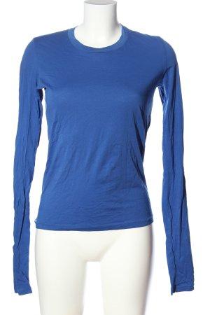 Acne Studios Bluzka z długim rękawem niebieski W stylu casual