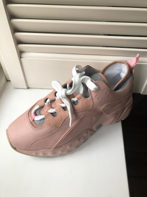 Acne Lace-Up Sneaker dusky pink