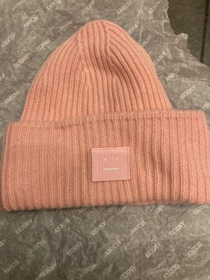 Acne Beanie multicolored wool