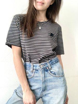 Acne Studios Stripe Shirt black-anthracite cotton