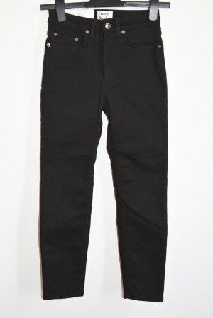 Acne Studios Patti Stay Jeans Stretch neu schwarz W 24
