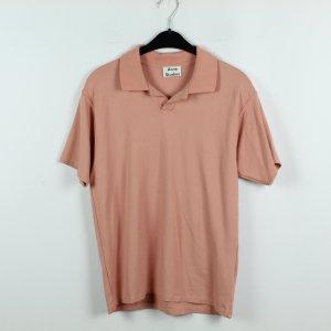 Acne Camiseta tipo polo nude tejido mezclado