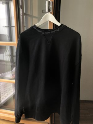 Acne Jersey largo negro