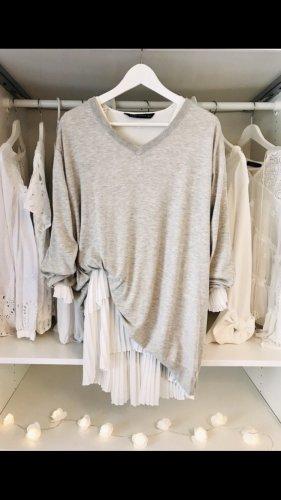 Acne Maglione con scollo a V grigio chiaro-grigio
