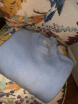 Acne Wool Sweater azure wool