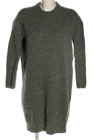 Acne Studios Swetrowa sukienka jasnoszary Melanżowy W stylu casual