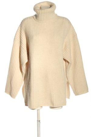 Acne Studios Sweter z golfem kremowy W stylu casual